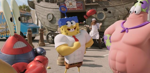 "Sponsored Video: ""SpongeBob Schwammkopf 3D"": SpongeBob und Freunde begegnen Antonio Banderas"