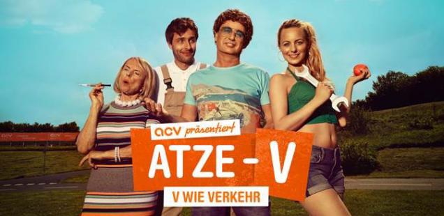 Sponsored Video: Erleben Sie Atze Schröder in seiner neuen Rolle als Chef des ACV-Verkehrsübungsplatzes