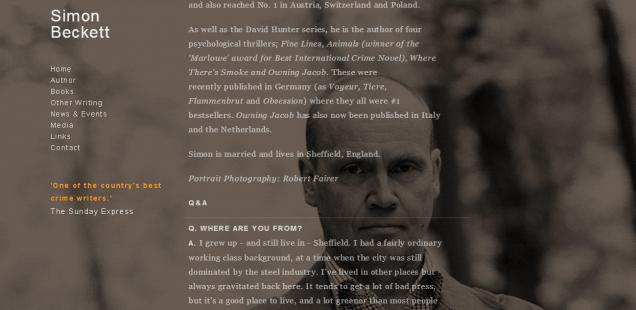Wie ist die chronologische Simon-Beckett-Bücher-Reihenfolge?