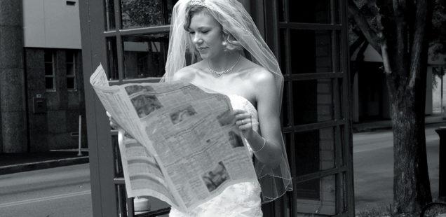 Kreativ gestalten: Das Einmaleins der Hochzeitszeitung
