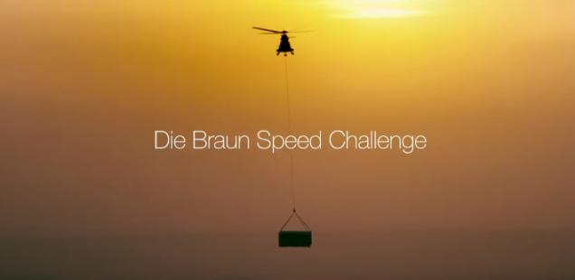 Sponsored Video: Rekordverdächtig im neuen Video von Braun: Sebastian Vettel und der Braun Series 9