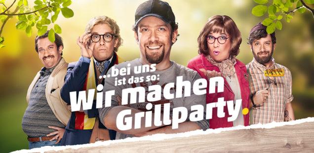 Sponsored Video: Christian Ulmen macht als Andi Grillparty für PENNY