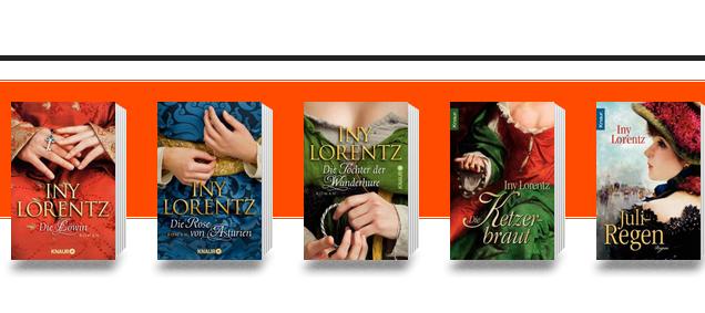 Iny-Lorentz-Bücher: Über die Reihenfolge vor dem Kauf informieren
