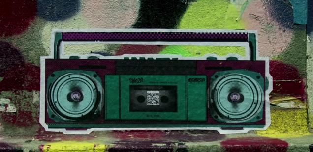 Sponsored Video: Street Art interaktiv: Die digitale QR-Code Kunst von SWEZA