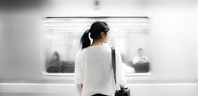 Handy-Tickets in der U-Bahn